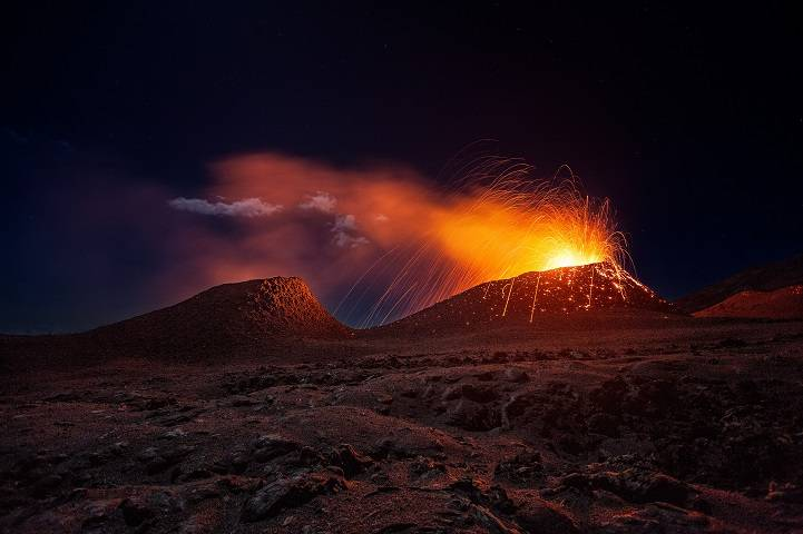 The last eruption of LA Fournaise Volcano. Réunion Island www.rup.re
